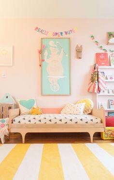 Habitación infantil en colores pastel