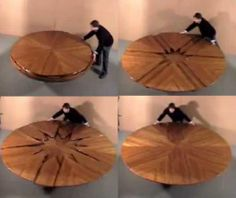 Expanding Round Table | Decor Furniture Non Chairs | Pinterest | Expanding  Round Table, Dining And Rounding