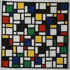 Piet Mondrian Abstract Art