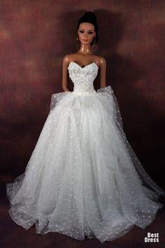 Wedding dress.  Куклы от Monaeboy (II)