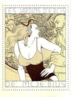 Moebius, les jardins d'éros