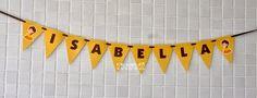 Varal de bandeirinhas–Bela cute  :: flavoli.net - Papelaria Personalizada :: Contato: (21) 98-836-0113 vendas@flavoli.net