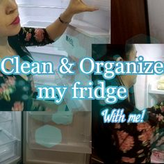 Today we're going to tackle my fridge and I hope you tackle yours alongside me!  #CLEANINGMOTIVATION #FRIDGECLEANANDORGANIZE #DIYCLEANINGSOLUTION