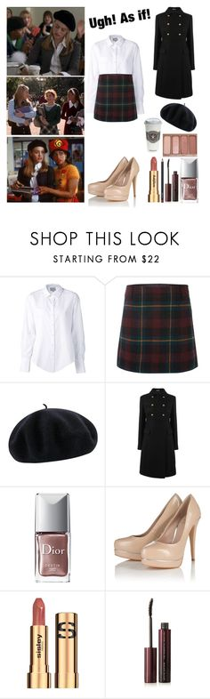 """""""Clueless : Cher Horowitz ♡"""" by shanelle-khl ❤ liked on Polyvore featuring beauty, Maiyet, Polo Ralph Lauren, Betmar, Miu Miu, Urban Decay, Christian Dior, Lipsy, Sisley Paris and M.A.C"""