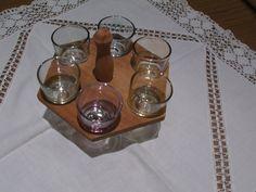 6 Schnapsgläschen aus den 50er Jahren  von MajaSt auf DaWanda.com