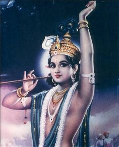 Krishna is the most attractive super-hero He is the most in all qualities