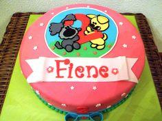 Woezel en Pip taart / cake