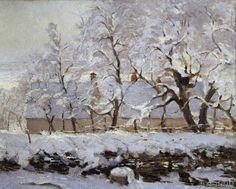 Claude Monet - La pie (The magpie)