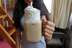 wavevvifi:iced coffee in mason jars are the best