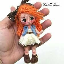 Tejiendo con celitzy: muñeca knottella traducción español Crochet Toys, Free Crochet Bag, Crochet Patterns Amigurumi, Amigurumi Doll, Crochet Animals, Crochet Clothes, Crochet Baby, Doll Patterns Free, Free Pattern