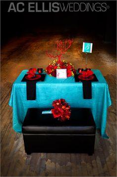 red and teal wedding | Sioux Falls Wedding Photography AC Ellis » South Dakota Wedding and ...