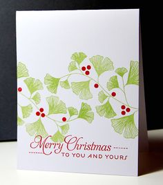 Thank you for the amazing week here at Dynamic Duos! We were blown away by the submissions using Real Red and Certainly Celery. Chrismas Cards, Holiday Cards, Winter Cards, Winter Christmas, Winter Holidays, Christmas Greenery, Christmas Stuff, Happy Holidays, Christmas Crafts