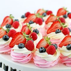 These Berry Meringue Baskets look beautiful on the dessert table and are a huge hit every time. So, make your mom smile.