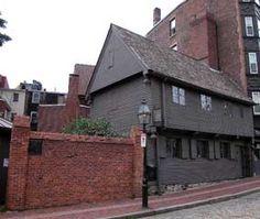 Paul Revere's House in Little Italy, Boston