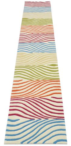 The Fizzer Rug crafted as a Runner :)