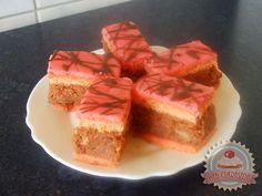 Uráli torta Hungarian Cookies, Hungarian Cake, Hungarian Recipes, Hungarian Food, Cupcake Cakes, Cupcakes, Bakery, Cheesecake, Easy Meals