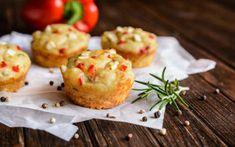 Εύκολο και νόστιμο σνακ Breakfast Snacks, Baked Potato, Muffin, Potatoes, Baking, Ethnic Recipes, Food, Diet, Bakken