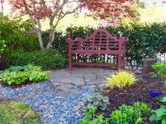 Portland Heights Area Residential: Yard, Gardens, Pool and Patio Designed by Landscape Architect Charles Rosenfeld