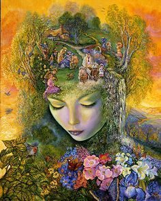 Head Gardener by Josephine Wall