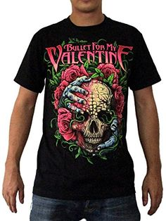 """Bullet For My Valentine """"Hands Around A Skull"""" T-Shirt..."""