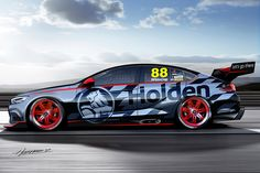 A First Look at Holden's 2018 Commodore Supercar Concept