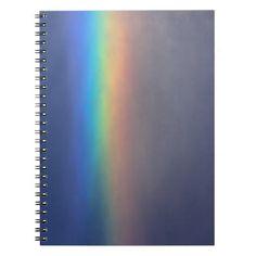 Bright Rainbow Notebook
