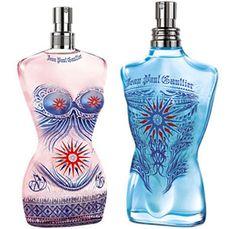 Jean Paul Gaultier Parfums -  Edition Eté 2012 Tatouages Maoris
