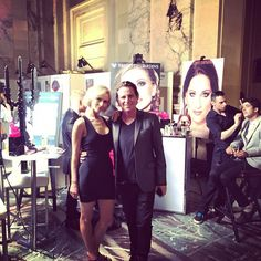 Bruno Desjardins et Lesya ;-) Brunodesjardins#makeup#