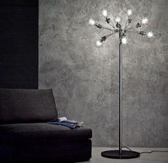 matrix Terra Nowoczesna, unikalna lampa podłogowa do holu, apartamentu, sypialni, salonu, pokoju dziennego, korytarza.