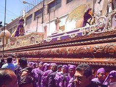 cuaresma y semana santa en Guatemala - Cofrades
