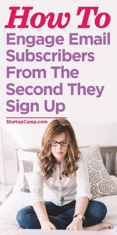 You should read this! Engage new email subscribers from the second they sign up!