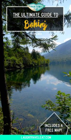 Bohinj region in Slovenia is relatively unvisited in comparison to its Bled. But don't miss out this gem Travel Tips For Europe, Travel Destinations, Famous Waterfalls, Bohinj, Town Names, Europe Holidays, Lake Bled, Free Maps, I Want To Travel