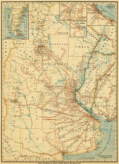 La Plata map, 1905