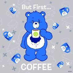 Care Bears Cartoon Characters Good Luck Bear Buckle Down Bi-fold Wallet New Gift