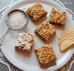 Jablkovo-makový strúhaný koláč je jednoducho bomba!