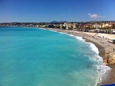 The Mediterranean Coast looking towards Antibes