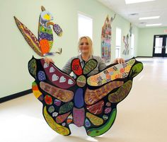 """Natasha Tincher posed with her butterfly. """"To me recovery is like a butterfly. We turn into something beautiful once we change."""""""