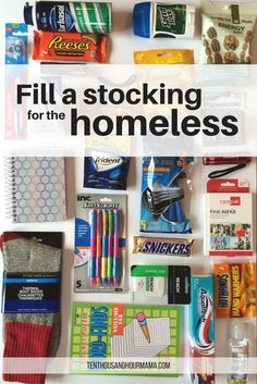 For just a few bucks, you can fill a stocking for the homeless or someone else in need. It's like a Christmas blessing bag! Giving back as a family teaches kids empathy and compassion—especially during the holidays. Ten Thousand Hour Mama