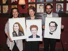 See How They Shine! Fun Home Tony Winners Jeanine Tesori, Lisa Kron & Sam Gold Honored at Sardi's