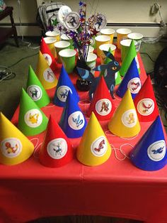 DIY: Crafting It Myself: Pokemon Birthday Party