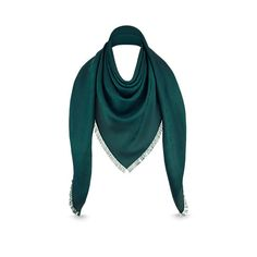 Monogram Shawl Soft and warm due to its mixture of silk and wool this shawl  reproduces 84d7433865