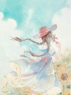 Appreciating illustrations has become a habit in society. Watercolor Illustration, Digital Illustration, Illustration Flower, Illustration Fashion, Couple Illustration, Illustration Sketches, Anime Art Girl, Manga Art, Anime Girls