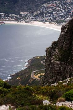 Chapman's Peak Drive and Hout Bay - Cape Town, South Africa. Monuments, Most Beautiful Cities, Amazing Places, South Afrika, Africa Destinations, Le Cap, Cape Town South Africa, Out Of Africa, To Infinity And Beyond