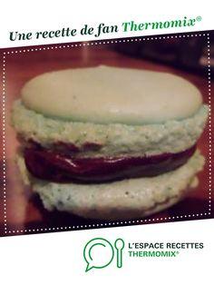 macarons par fredo05. Une recette de fan à retrouver dans la catégorie Pâtisseries sucrées sur www.espace-recettes.fr, de Thermomix®.