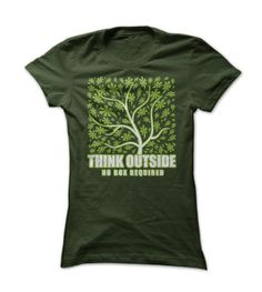 Think Outside - Camping / Nature T Shirt
