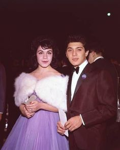 Annette Funicello & Paul Anka, Everybody thought they would get married, and her parents said NO. Also, Walt Disney had other plans for her and her career and kept the two apart.