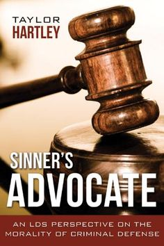 """""""We need to better follow Him as His disciples and Christians.  How we treat criminals can indicate our level of commitment.  Rehabilitating them and being anxiously engaged in the good cause of healing them from their spiritual sickness can lead to the end of their criminal activity.""""  Sinner's Advocate, p. 150."""
