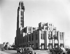 1938 Bullocks on  Wilshire, Los Angeles, CA.