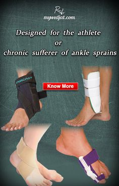 Provides relief from the ankle pain and keeps uncomfortable swelling at  bay