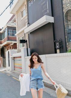 愼 ☼ ριητεrεsτ policies respected.( *`ω´) If you don't like what you see❤, please be kind and just move along. Korean Street Fashion, Korea Fashion, Asian Fashion, Fashion Pants, Girl Fashion, Fashion Outfits, Womens Fashion, Girly Outfits, Simple Outfits